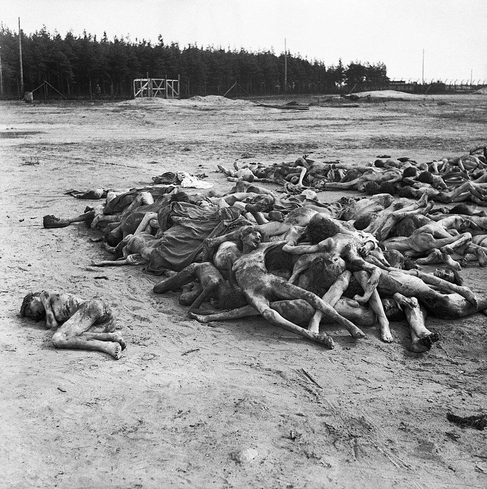 The Liberation of Bergen-belsen Concentration Camp, April 1945 BU3774