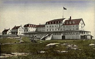 Star Island (New Hampshire) - The Oceanic Hotel c. 1910
