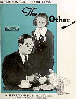 <i>The Other Half</i> (1919 film) 1919 film by King Vidor