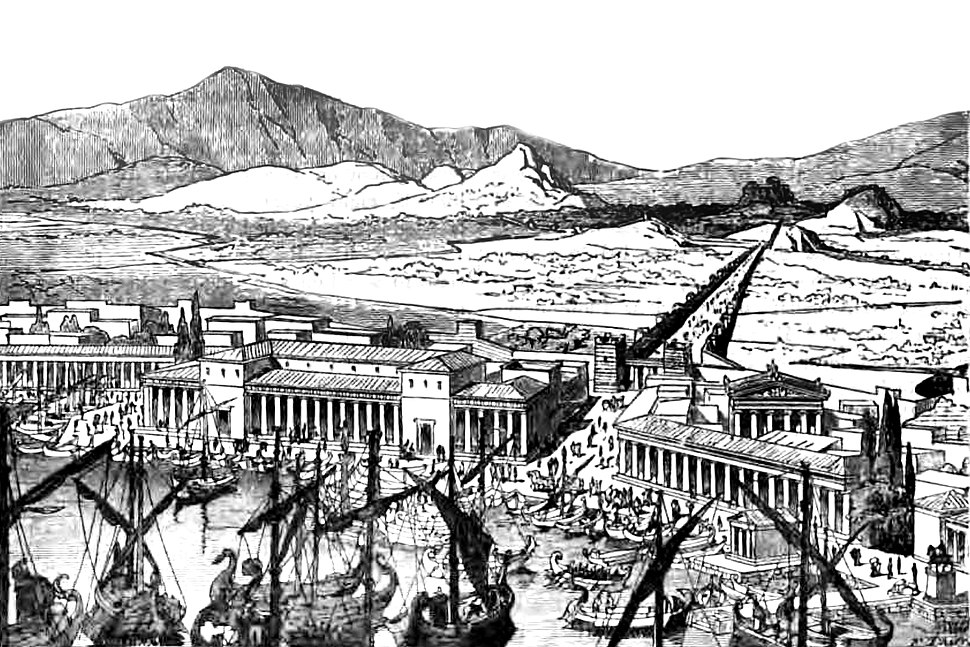 The Piraeus and the Long Walls of Athens