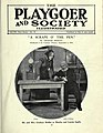 "The Playgoer and Society Illustrated Vol VII no. 38, cover, ""A Scrape o' the Pen"".jpg"