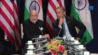 File:The President Meets with the Prime Minister of India in Paris.webm