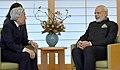 The Prime Minister, Shri Narendra Modi meeting the His Highness Emperor Akihito of Japan, in Tokyo on November 11, 2016 (2).jpg