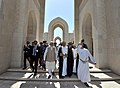 The Prime Minister, Shri Narendra Modi visiting the Sultan Qaboos Grand Mosque, which is the biggest mosque in Oman, in Muscat on February 12, 2018 (5).jpg