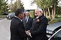 The Prime Minister, Shri Narendra Modi with the King of Jordan His Majesty Abdullah II Bin Al-Hussein, at Amman, Jordan on February 09, 2018 (2).jpg
