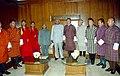 The Royal Advisory Council of Bhutan led by the Chairman, Mr. Dasho Rinzia Gyarishen calls on the Lok Sabha Speaker, Shri Somnath Chatterjee in New Delhi on March 01, 2005.jpg
