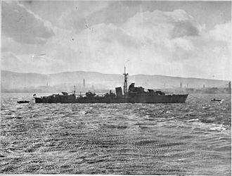 HMS Zealous (R39) - Image: The Royal Navy during the Second World War A27537