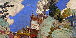 J. E. H. MacDonald - Image: The Supply Boat Mac Donald