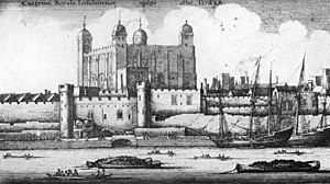 Royal Mint - Image: The Tower of London 1647