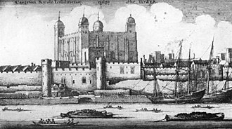 Royal Mint - The Tower of London in 1647