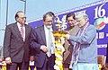 The Union Minister for Human Resource Development Dr. Murli Manohar Joshi inaugurating 'World Book Fair' in New Delhi on February 14, 2004.jpg