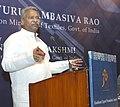 The Union Minister for Textiles, Dr. Kavuru Sambasiva Rao addressing at the XIVV Handloom Export Awards presentation ceremony, in New Delhi on December 20, 2013.jpg