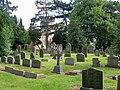 The churchyard at Egglescliffe - geograph.org.uk - 484292.jpg