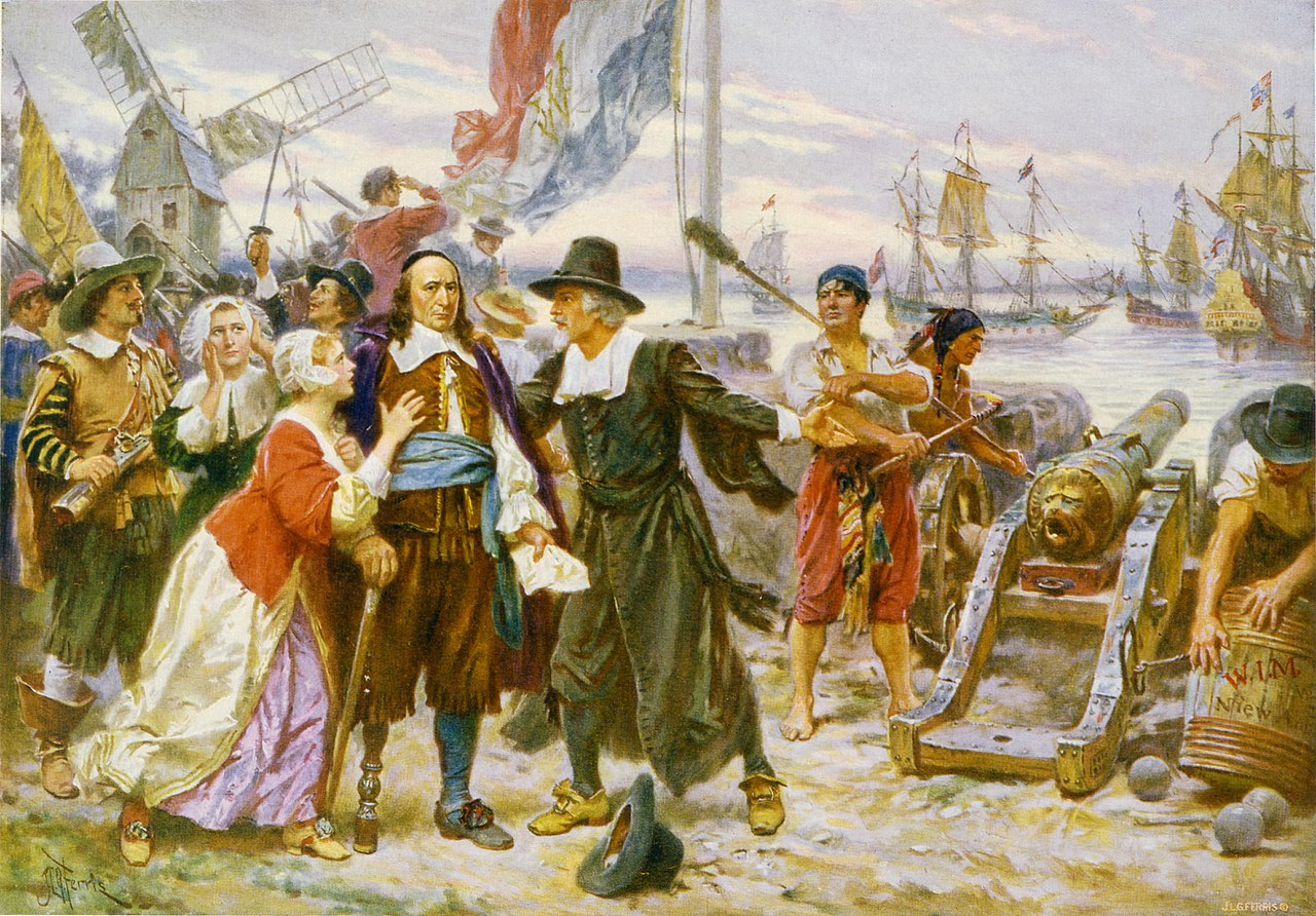 Image result for english take over of new netherland