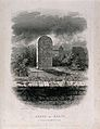 The grave of John Keats in the Protestant cemetery of Rome, Wellcome V0018803.jpg