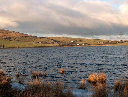 The south side of Clowbridge Reservoir - geograph.org.uk - 1748536