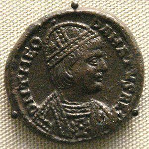 Theodahad - Coin of Theodahad.