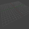 This is a screenshot of the default grid in Blender 2.71. Taken in object mode..PNG