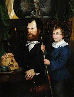 Thomas Bateman - Thomas Bateman and his son, William Thomas Bateman, by Thomas Joseph Banks