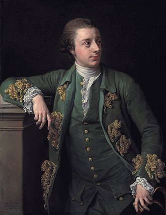 Thomas Fortescue (1744–1799) - Thomas Fortescu (Pompeo Girolamo Batoni)