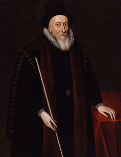 Thomas Sackville, 1st Earl of Dorset 16th/17th-century English politician and poet