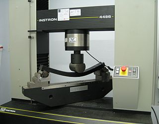 Universal testing machine Type of equipment for determining tensile or compressive strength of a material