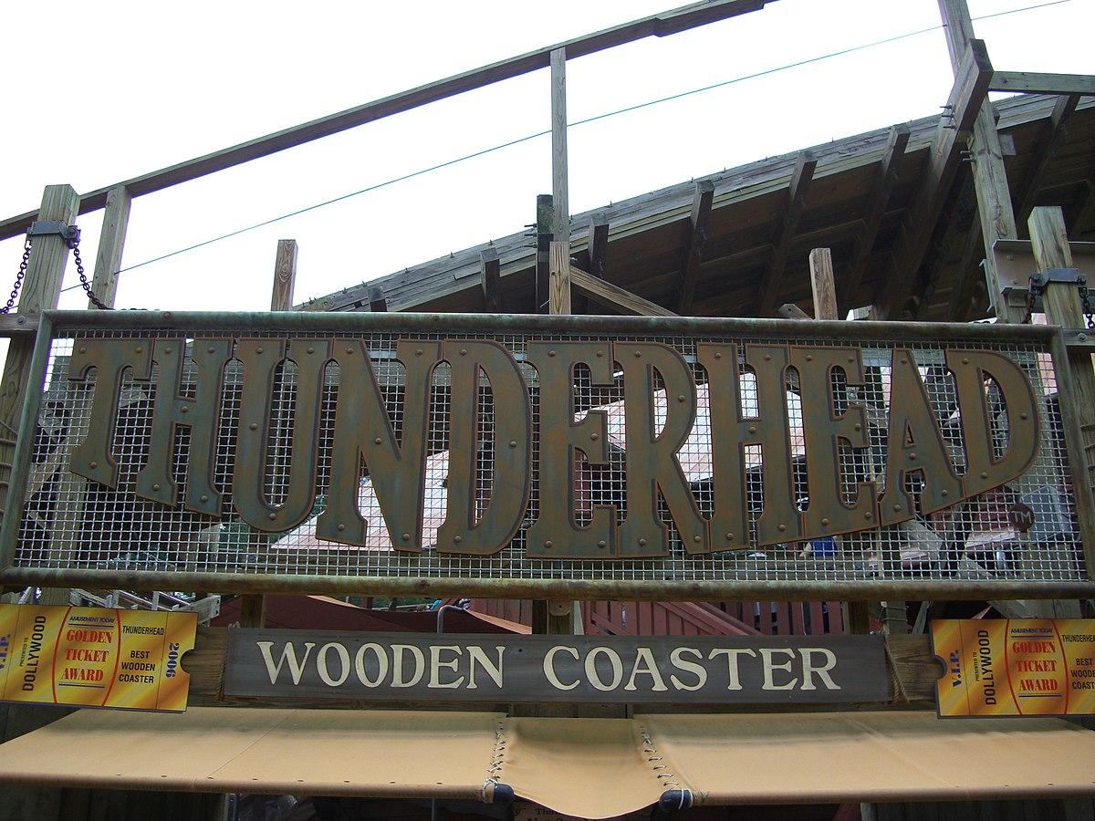 Thunderhead (roller coaster) - Wikipedia