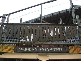 Thunderhead (roller coaster) - Image: Thunderhead (Dollywood) 01