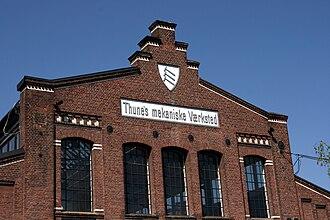 Andreas Lauritz Thune -  Thunes Mekaniske Værksted at Skøyen