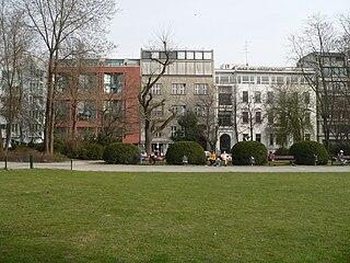 Lützowplatz square in Berlin