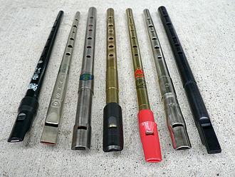 Tin whistle - Image: Tin Whistles