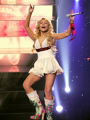 Ukraine in the Eurovision Song Contest - Image: Tina karol