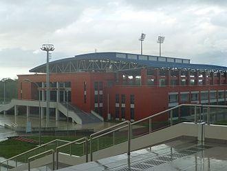 Couva - National Aquatic Center, Couva.