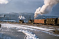 To lokomotiv på Brattøra (ca. 1955).jpg