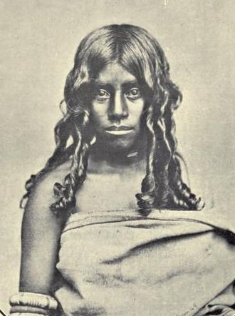 Toda people - Toda woman, 1909