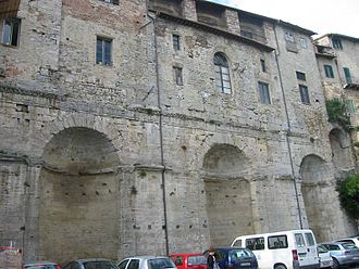 Todi - The so-called Nicchioni, Roman constructions of uncertain function.