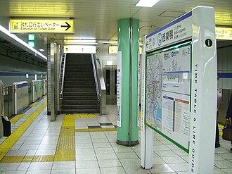 Nishi-sugamo Station - Platform