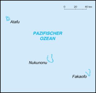 Karte von Tokelau