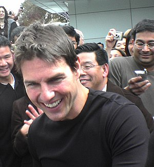 English: Tom Cruise in Sunnyvale, California