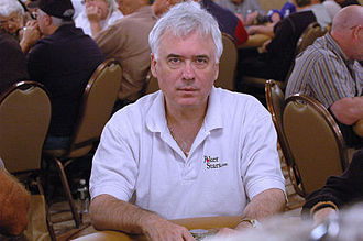 Tom McEvoy - Tom McEvoy at the 2006 World Series of Poker