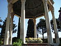 Tomb of Hafez, the poet, in Shiraz, Iran.jpg