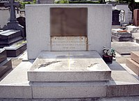Tombe Maurice Bellonte, Cimetière de Passy, Paris.jpg