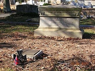 John Brown Gordon - Gordon's grave, Oakland Cemetery, Atlanta, Georgia