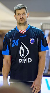 Tonči Valčić Croatian handball player