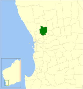 Shire of Toodyay - Location in Western Australia