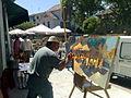 Torrelodones. Certamen de Pintura en directo Rafael Botí. Plaza de la Constitución.jpg