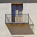 Torres dels guardes de l'albereda de València, balcó.JPG