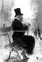 Toulouse-Lautrec - UN VIEUX MONSIEUR SUR UN BANC, 1880, MTL.18.jpg