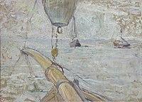 Toulouse-Lautrec - VUE DU BASSIN D'ARCACHON PRISE DE L'AVANT DU YACHT COCORICO, 1889, MTL.129.jpg