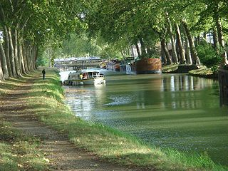 Canal du Midi, river travel